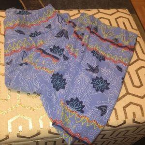 LuLaRoe Other - LulaRoe women's TC blue designed leggings